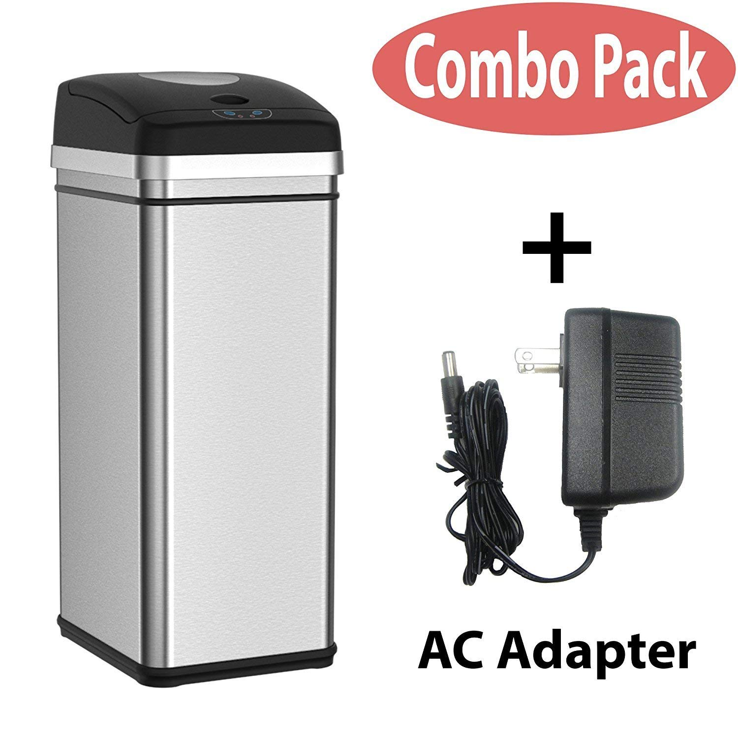 ab879f5e582 Get Quotations · Halo 13 Gallon Touchless Trash Compactor Automatic Trash  Can