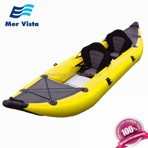 Cheap China Boat Inflatable Sea 2 Person Fishing Kayak For Sale