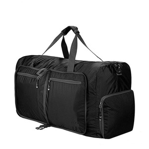 Foldable Travel Duffel Bag Luggage Sports Gym Water Resistant Nylon Waterproof Bag