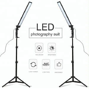 Adjustable 180 LED Photography Studio LED Light with Tripod Stand Photographic Video Fill Light