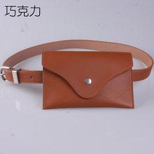Винтажная поясная сумка, Женская поясная сумка из искусственной кожи, поясная сумка для путешествий, бумажники, поясные сумки для женщин, по...(Китай)