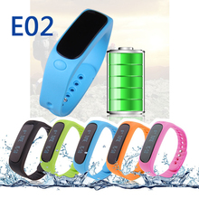 Smartband xiaomi mi band E02 smart wristband Pulsera Waterproof Fitness Bracelet Sports Wristband Gear Fit For Android IOS