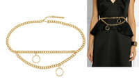 Fashion Garment Accessories Ladies Charm Waist Chain for Garment Chain Belt for Women