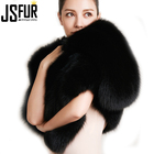 2018 New Design Real Fox Fur Scarf With Factory Price For Fashion Winter Women Dinner Party