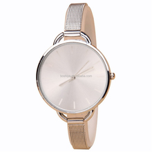 New arrival golden lady watch simple fashion Alloy Thin mesh have stock women Sports wristwatch