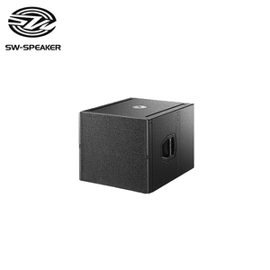 Q-SUB high power pa subwoofer speaker+professional active speakers system