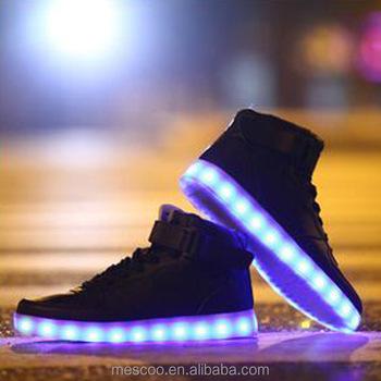 Baskets Lumières Et Femmes Décontractées Chaussures Hommes Led 2016 0zvIOqx