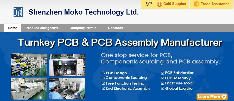 Turnkey PCB & PCB assembly manufacturer in shenzhen with 17 years experience