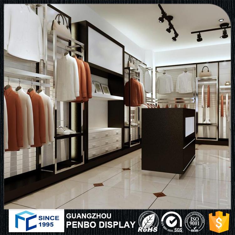 Top personnalisé vêtements boutique compteurs, magasin de vêtements  KJ62