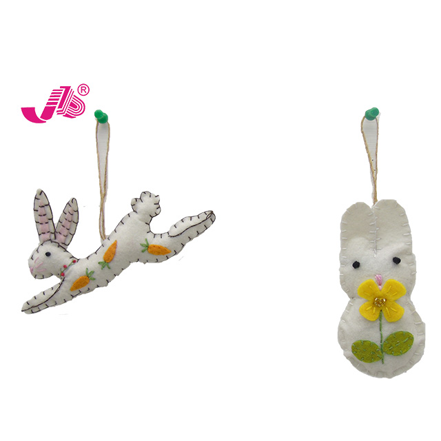 Pasen stof bunny opknoping ornament