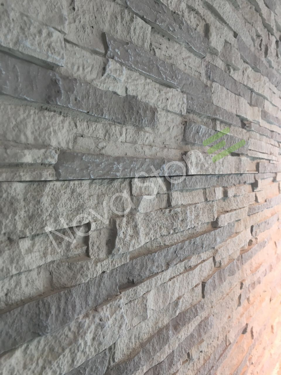instalacin rpida panel piedra poliuretano revestimiento exterior - Revestimiento Exterior