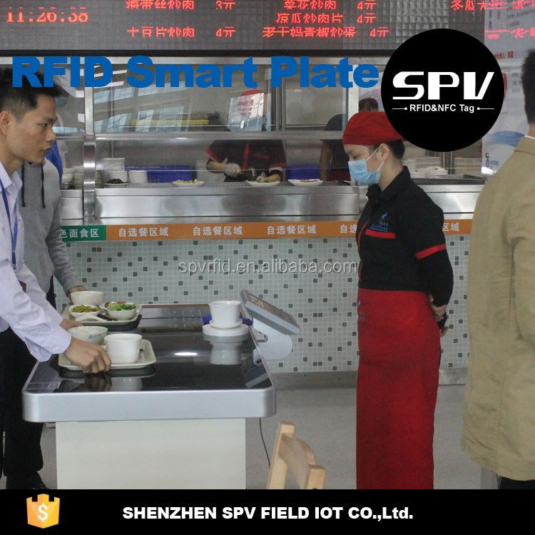 RFID Dinnerware for Canteen