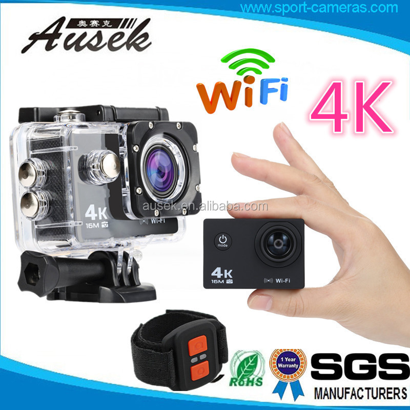 WIFI Mini Action Helmet Sport Camera 16MP Waterproof Sports DV with CE ROHS