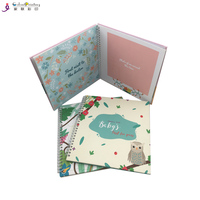 A4 Size Custom Keepsake Baby Gift Books Printing First Year Journal Memory Book