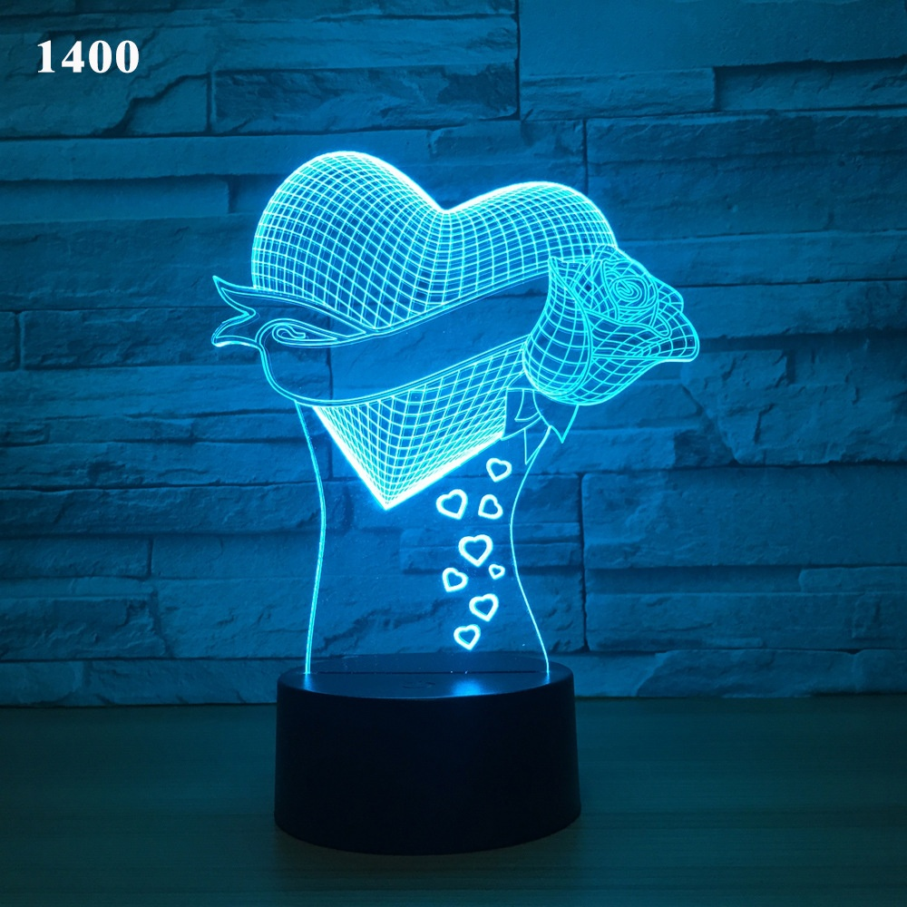 Zogift 3D LED Colorful Seal With Two Lovely Teeth, Table or Bed <strong>Lamp</strong> with Touch Control