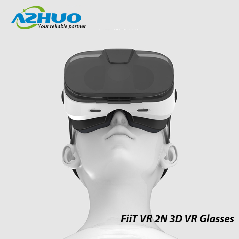 FiiT VR 2N Virtual Reality 3D VR Glasses for iPhone Android 4.0 ~ 6.5 inch Mobile Phone