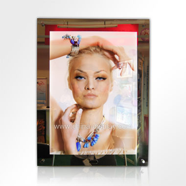 Display Led Backlight Poster Light Box With With Sensor Magic ...