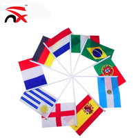 nuoxin small all world national hand flag for all festivals