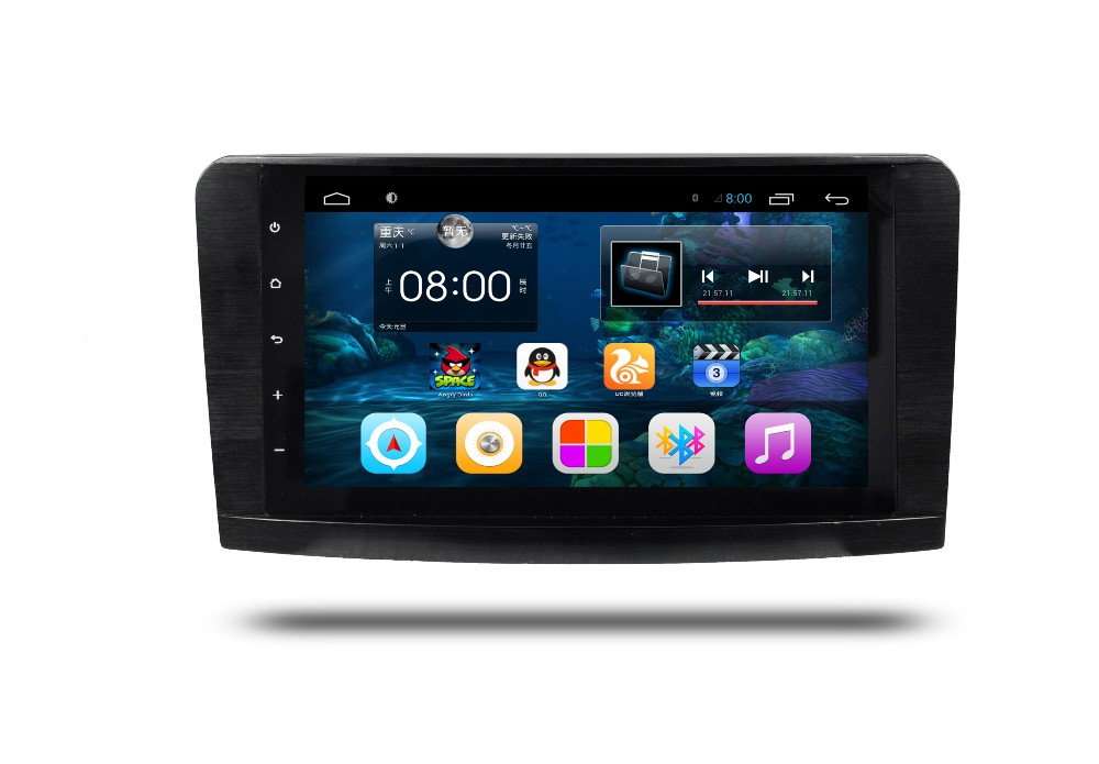 Android 6.0 quad core car radio stereo player forML/GL 164 350 2005-2012 SUPOORT 3g wifi rds mirror link free map