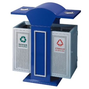 2018 Outdoor Cigarette Metal Recycling Bin With Ashtray