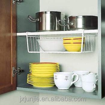Multi-function Under Shelf Hanging Basket For Kitchen Lockers - Buy Wire  Basket Shelf Kitchen,Kitchen Drawer Basket,Hanging Baskets For Sale Product  ...