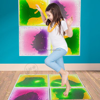 Royllent liquid tiles Multi-color Exercise Mat Kids Safety Play Floor Tile
