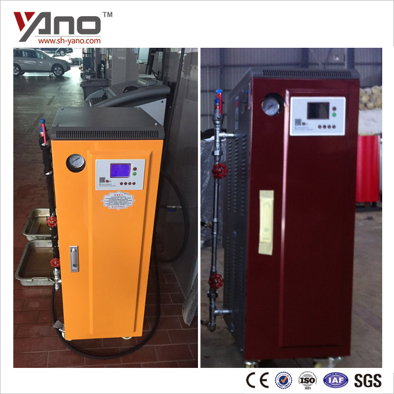 Small Power 15KW 21.5KG/H Electric Car Engine Cleaning Machine