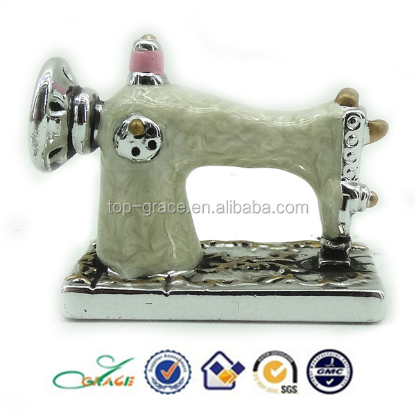 2015 Tourist souvenir sewing machine plated fashion gifts