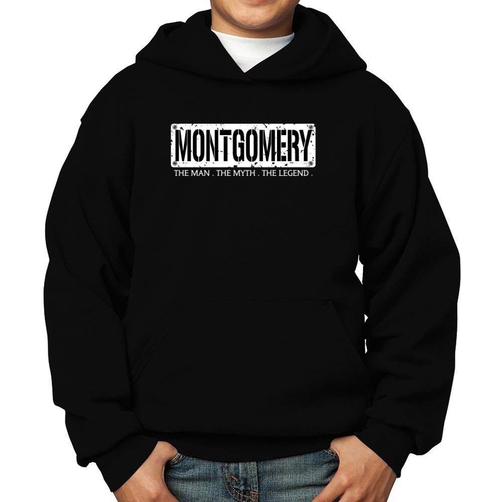 Teeburon Montgomery The Man The Myth The Legend Boy Hoodie