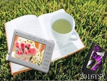 Free Shipping 7inch ebook reader e-book,HD 720p+8GB Memory Built-in Multi-function e book MP3 MP4 Video Game Player,Recording+FM