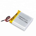 EN903030 700mAh 3.7V lithium polymer battery for smart watch and digital products