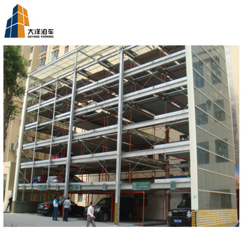 Vertical horizontal Puzzle Car Parking System Parking Solution