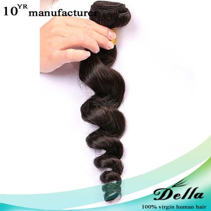 Guangdong della hair company virgin hair 5a brazillian hair