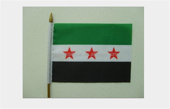 2015 hot sale Syria car flag with all kinds of size