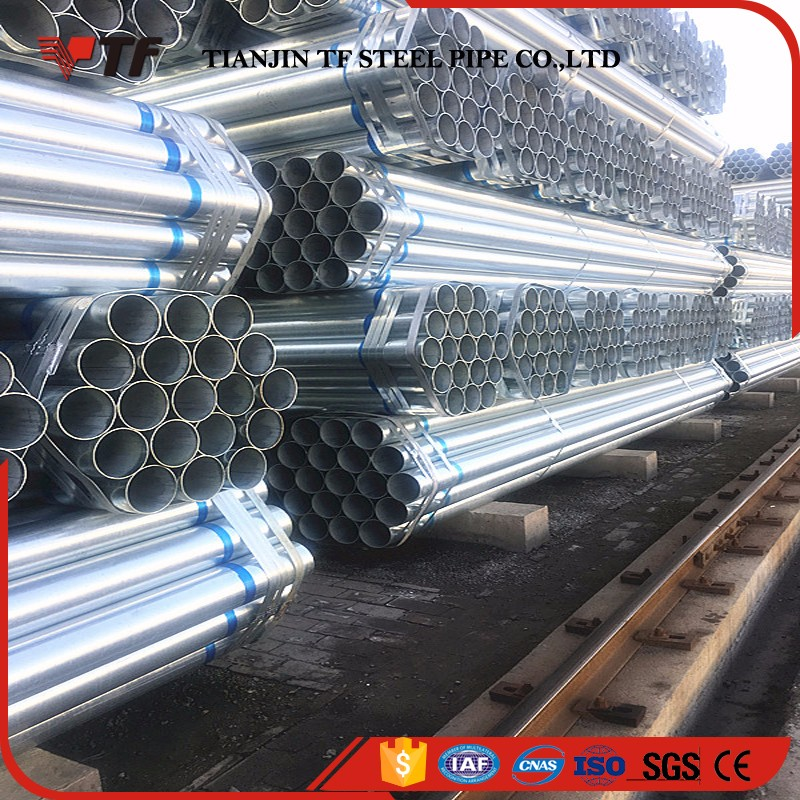 China suppliers New product pre-galvanized steel round pipe for 16mm