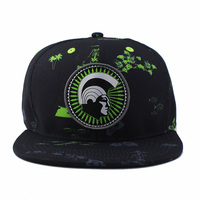 Custom Black Snapback Caps And Hats With Embroidery Logo