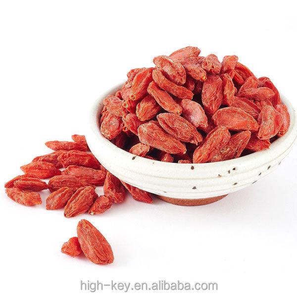 2012 Fornecimento de Fábrica de Gou Qi Ninxia Goji Sementes Orgânicos Goji berries Secas