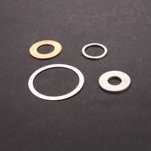 Customized oil removal flat metal washer
