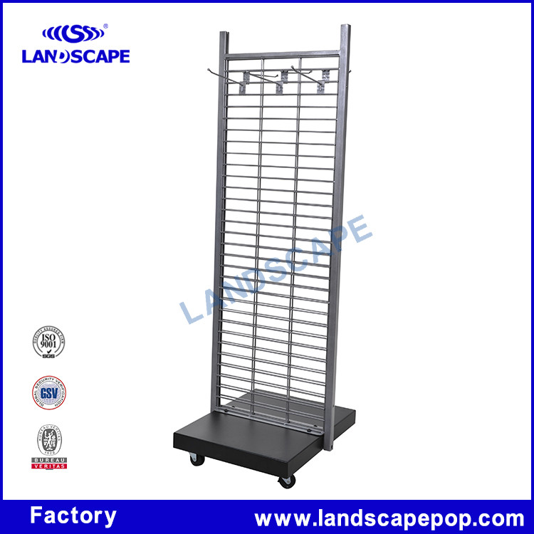 Double Sides Display Stands Wire Mesh / Concrete Wire Mesh With ...