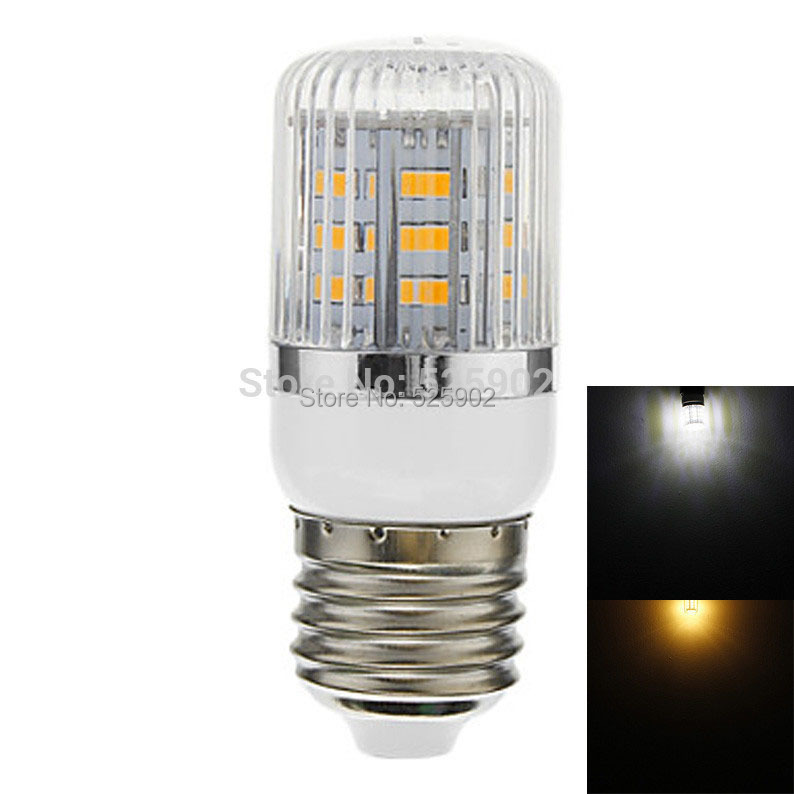 E27 SMD 5730 24LED 420LM 6W Warm White(3000-3500K) Natural White(6000-6500K) Light LED Corn Bulb(AC 220-240V)