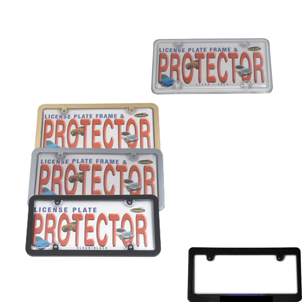 plastic car number plate for car for US market