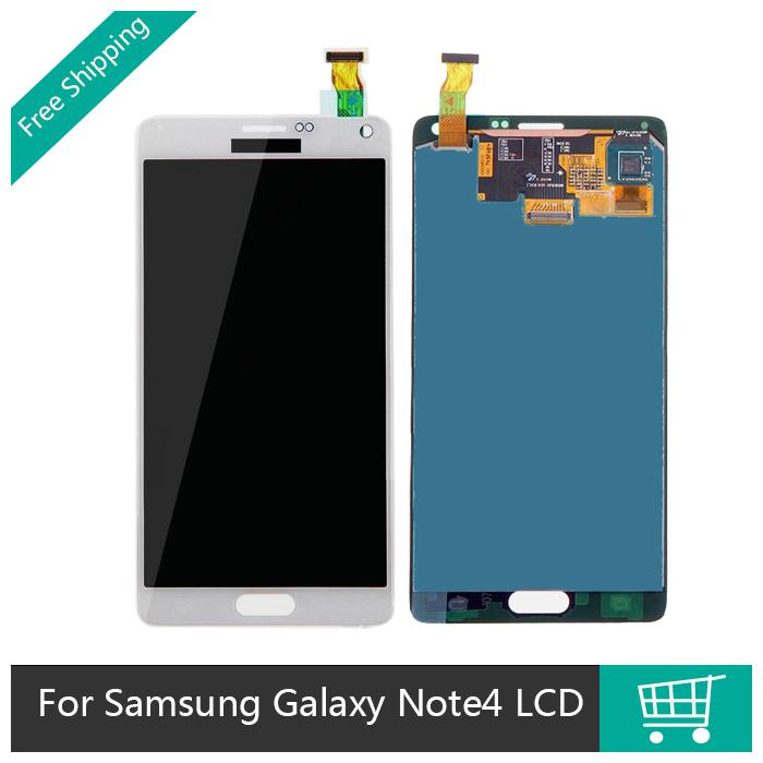 100% Warranty Pantalla For Samsung Galaxy Note 4 N9100