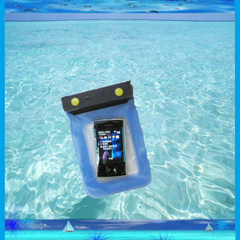 New pvc 22*12cm waterproof bag for nokia