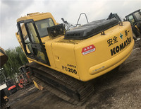 secondhand 20 tons CE BV Japan hydraulic used crawler PC200-6 excavator for sale