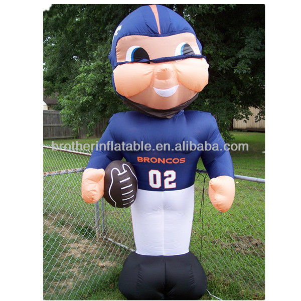 CA128 NFL inflatable player lawn figure