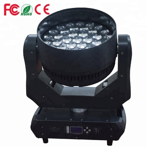 Most Popular Hot Sale Inno Color Beam 4in1 RGBW 37x15w LED Wash Moving Head Zoom