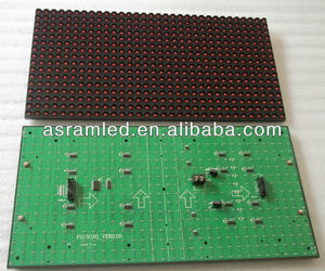 wholesale alibaba express china outdoor waterproof single red color p12.5 led module