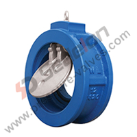 Made by Sedelon Casting Steel WCB 150# Single Plate Wafer Check Valve