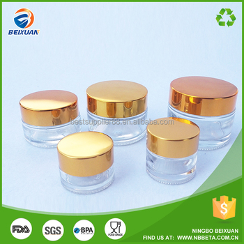 b3371e79db6f Wholesale 5g 10g 20g 30g 50g 80g Small Cosmetic Jar Glass Bottle Jar  Frosted Glass Cosmetic Jars With Gold Lid - Buy Cosmetic Jars,Jar  Glass,Frosted ...