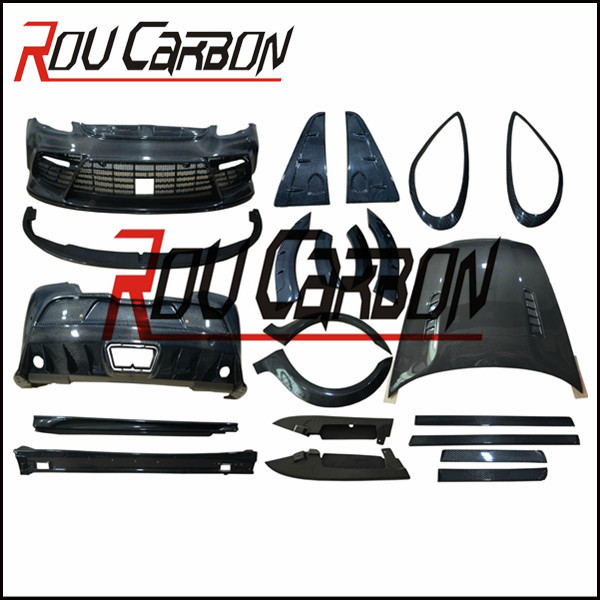 High quality auto parts carbon fiber body kits 958 gts